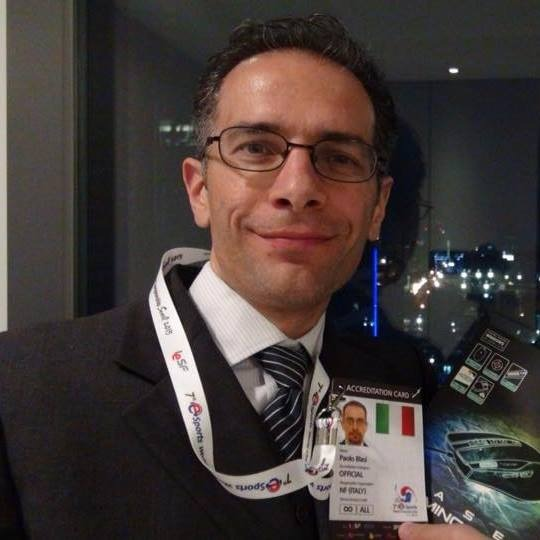 Paolo Blasi ESPORTS MANAGER ICG ICCL BATTLEFIELD